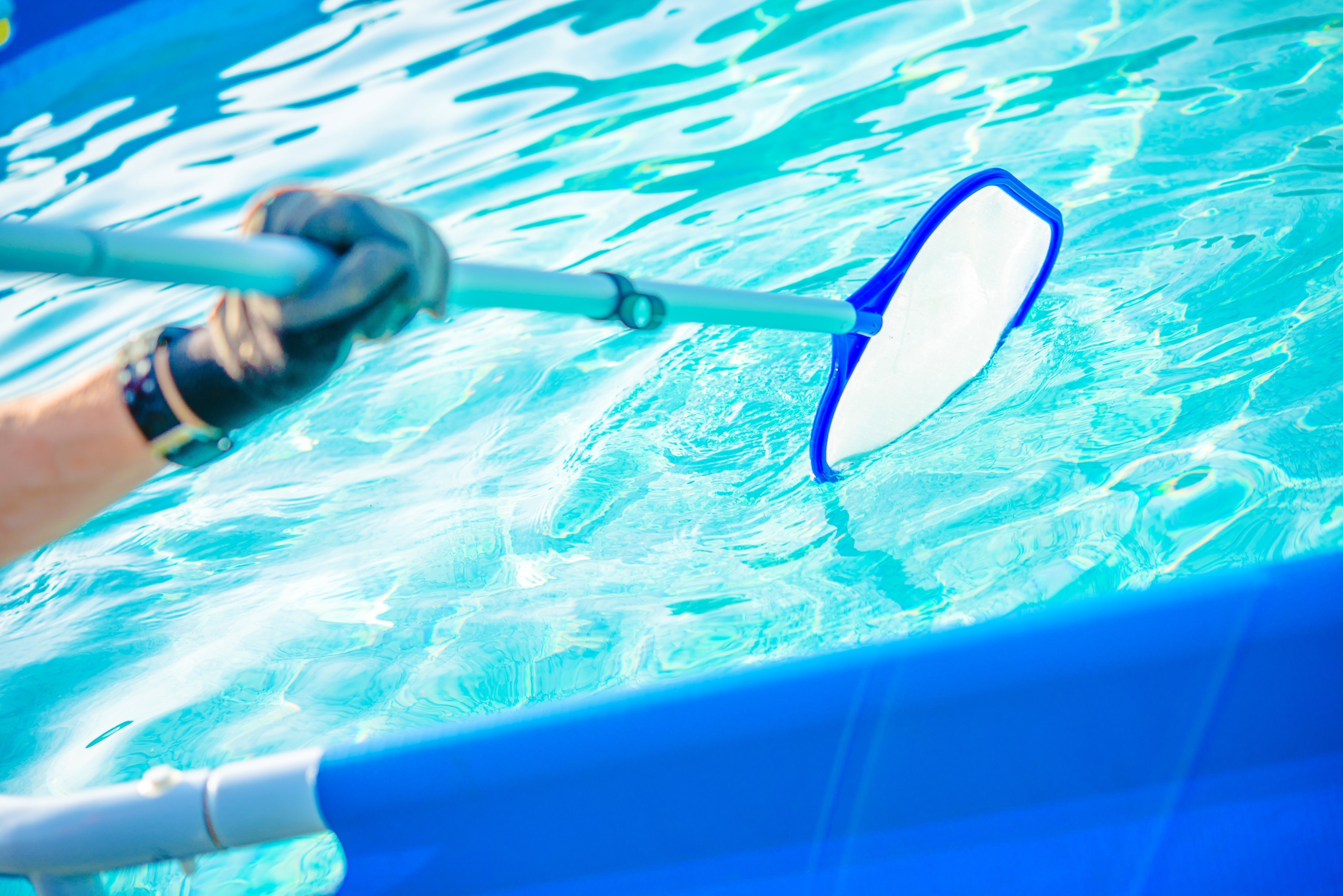 Efficient way to clean your pool for Opening Season